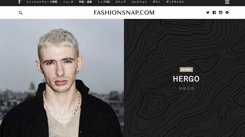 ファッションスナップ 公開